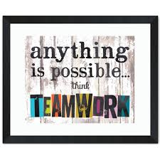 think teamwork inspirational art inspirational art