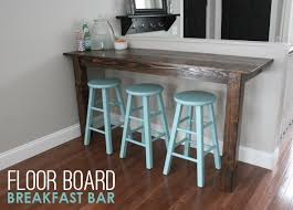 diy kitchen breakfast bar
