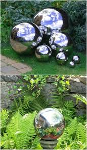 Decorating Bowling Balls Marbles Unique 32 Gorgeous DIY Gazing Balls To Decorate Your Garden DIY Crafts