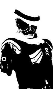 仮面ライダースカル トイレットペーパー さんのイラスト ニコニコ静