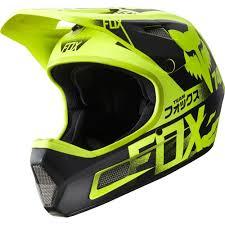 Fox Rampage Comp Full Face Helmet For Dh Mtb Freeride Bmx