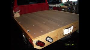 how to build a wooden bed for a ford ranger or a mazda b2300 wmv you