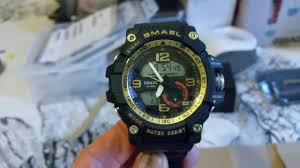 *** <b>SMAEL Digital Sports Watch</b> For Men Review & Unboxing ...