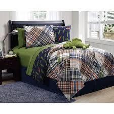 36 best Boy's Rooms images on Pinterest | Playrooms, Color pallets ... & Modern soft blue teal aqua navy green grey stripe comforter set full queen  twin Adamdwight.com