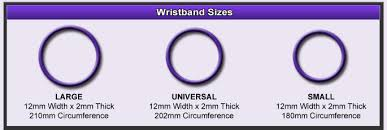 Silicone Wristbands Size Chart The Wristband Junction Segmented Custom Silicone Wristbands