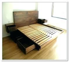 wayfair full bed platform bed with floating side tables table wooden full frame wayfair full bed wayfair full bed