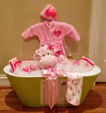 Gift Basket Wrapping Ideas Baby Shower Bath Tub Basket My Creations Pinterest Babies