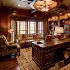home office cherry paneled design ideas pictures remodel and decor cherry wood home office