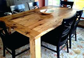 barn wood dining table reclaimed tables image 0 rustic with metal legs salvaged weathered concrete trestle