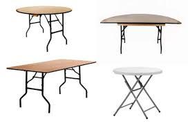 folding trestle table 6ft sizes and