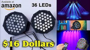 DJ Lights <b>36 LEDs</b> | Best offer on Amazon - YouTube