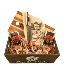 ultimate truffle selection gift basket black and white truffle salami salt