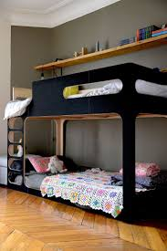 bunk bed modern modern bunk beds for kids popsugar moms pluunk