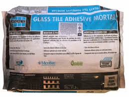 25 white only glass tile adhesive lcr 37 1013