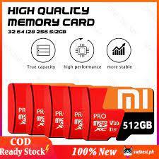 ♥Thanh Toán 100% Chính Hãng [Còn Hàng] Thẻ SD Tốc Độ Cao Xiaomi Thẻ Nhớ  Micro 3.0 10 Sdxc, Thẻ Flash 64GB - 512GB Bộ Nhớ Flash