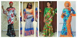 Lace African Dresses Design 2018