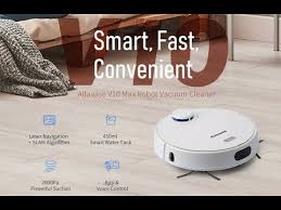 <b>Alfawise V10 Max Laser</b> Navigation Robot Wet and Dry Vacuum ...