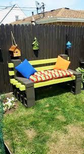 cinderblock furniture. Amazing Cinder Block Furniture Backyard Cinderblock -