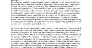 federalist summary google docs