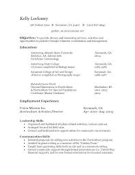 Cover Letter To Volunteer Cover Letter Gallery Of Volunteer Resume