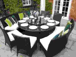 large round 10 person dining table