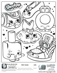 Shopkins Coloring Pages Pdf Coloring Pages Pictures To Print For