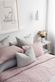 7 grey and blush pink interiors you