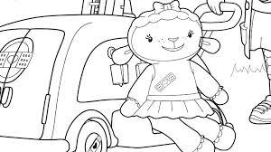 Doc Mcstuffins Coloring Pages Online Disney Junior Free And