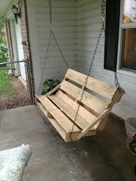 Small Picture 40 DIY Pallet Swing Ideas 99 Pallets