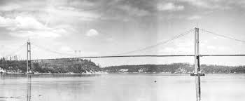 Design Of The Tacoma Narrows Bridge The Tacoma Narrows Bridge Funsite 1940 Galloping Gertie Images