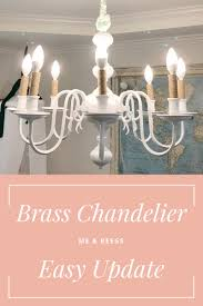 by far one of the easiest and most trans formative diy s in our home was the chandelier update in the playroom