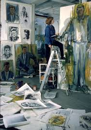 de kooning made dozens of drawings sketches and paintings of john f kennedy in 1963