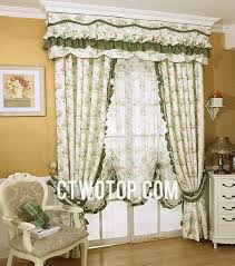 living room curtains with valance. Cute Little Flowers Living Room Girls Country Curtains (No Include Valance) With Valance