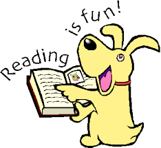 Image result for kids reading books clipart