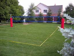 Sand Volleyball Court  Property Pictures  Pinterest  Volleyball Backyard Beach Volleyball Court