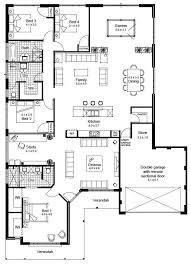 house floor plan elevation v1 house plansn1