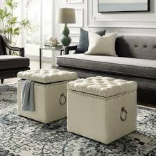New design living room furniture Tv Stands Quickview Wayfair Ottomans Poufs Wayfair