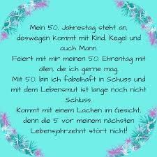 Einladungssprüche Zum 50 Geburtstag Einer Frau Einladungskarten