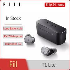 Original <b>New Fiil T1 Lite</b> TWS Bluetooth 5.2 Earbuds True Wireless ...