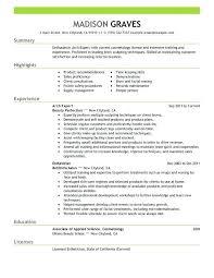 Esthetician Resume Impressive Creative Medical Esthetician Resume Sample With Additional Sample