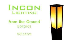 Incon Lighting 898 Series Incon Landscape Bollard
