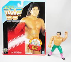 Be prepared to be amazed. Wwf Hasbro El Matador Tito Santana Loose With Usa Cardback