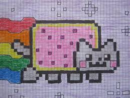 Nyan Cat Graph Paper Under Fontanacountryinn Com