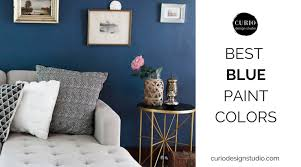 pin it on curio design studio best blue paint colors