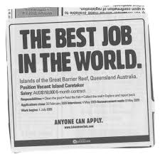 tourism queensland best job in the world ads of the world best job in the world
