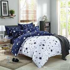 quality bedding sets blue stars family bed linens high quality bedding set 1 or 2 person duvet cover modern style linens comforter sets navy blue