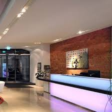 desk lighting solutions. perfect lighting desk lighting solutions london architects tate hindle designed this  glowing reception using back lit on solutions e