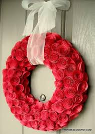 valentine wreaths for your front door10 Front Door Valentines Day Wreaths