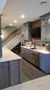 basement remodel kansas city. Kansas City Basement Remodeling Ideas Front Modern With Barn Board Contemporary Refrigerators Shaker Style Cabinets Remodel