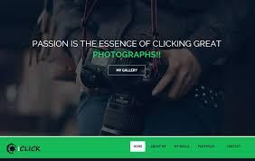 38 Latest Free Photography Website Templates 2019 Webthemez